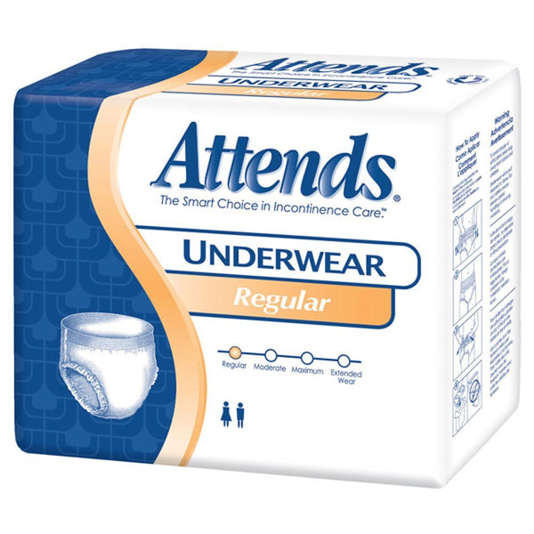 Attends Protective Underwear Regular Absorbency