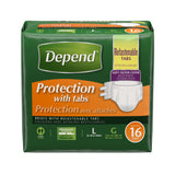 Depend Fitted Briefs Maximum Absorbency
