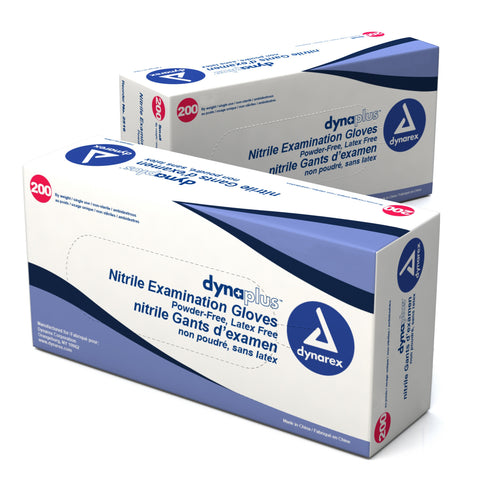 DynaPlus Nitrile Exam Gloves