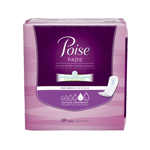 Poise Maximum Long Pads