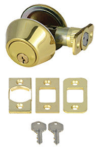 Mobile Home Brass Deadbolt Lock