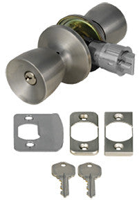 entrance mobile home lock set