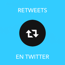 Retweets en Twitter - Socialfy