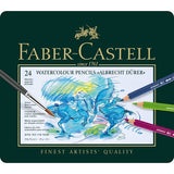 Faber-Castell Albrecht Durer 24 Set of Aquarelle Watercolor Colored Pencils