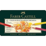 Faber-Castell Polychromos 12 Set Colored Pencils
