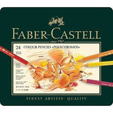 Faber-Castell Polychromos 24 Set Colored Pencils