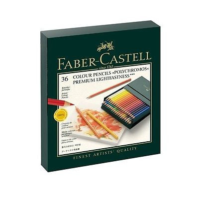 Faber-Castell Polychromos 36 Studio Box Set Colored Pencils