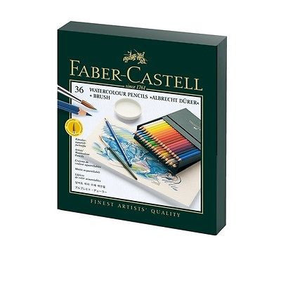 Faber-Castell Albrecht Durer 36 Studio Box Set Aquarelle Watercolor Pencils