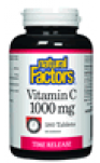 Vitamin C 1000mg Time Release - 180 Tablets