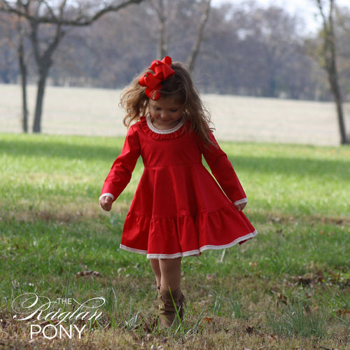 Avalon Dress - The Raglan Pony