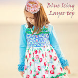 Icing Layer Top Sky Blue - The Raglan Pony