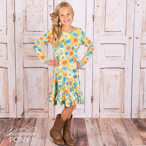 Brielle Twirl Dress - The Raglan Pony