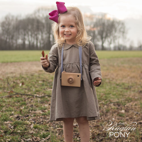 Cora Dress - Taupe - The Raglan Pony