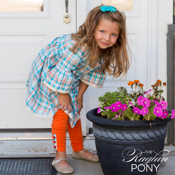 Everly Plaid - The Raglan Pony