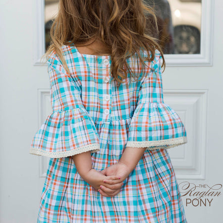 Claire Dress - Gingham & Lace