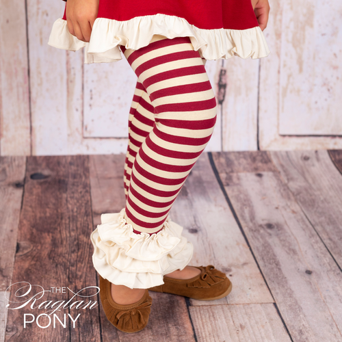 Flynn Leggings Fireside Christmas