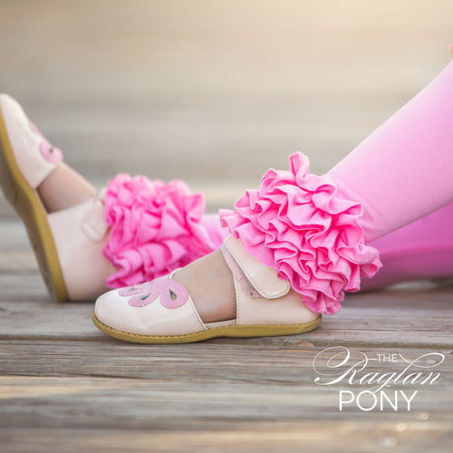 Icings Bubblegum Pink - The Raglan Pony