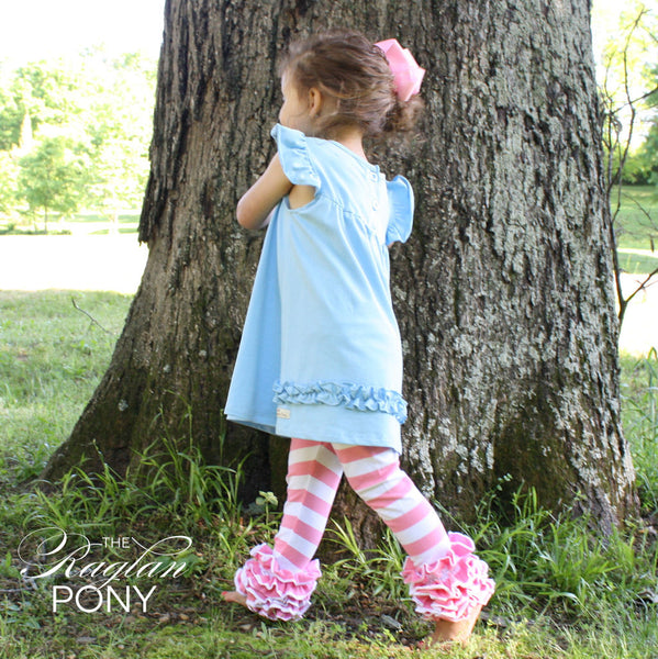 Icings Bubblegum Stripe - The Raglan Pony