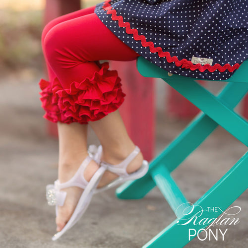 Capri Icing Red - The Raglan Pony