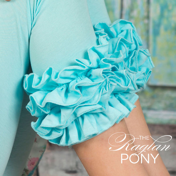 Capri Icing Cyan - The Raglan Pony
