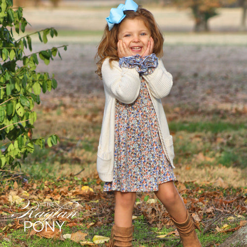 Festive Floral Icing Dress - The Raglan Pony