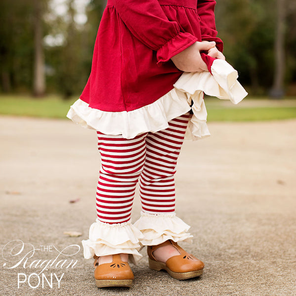 Flynn Leggings Fireside Christmas - The Raglan Pony
