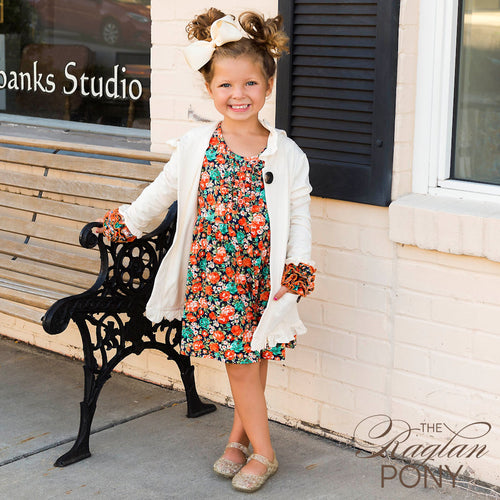 Icing Dress - Camari Floral - The Raglan Pony