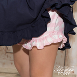 Ruffle Shorts Maisie - Gingham - The Raglan Pony