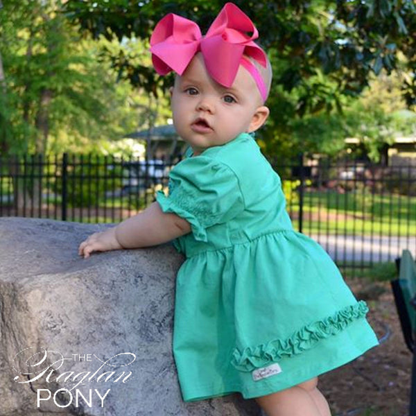 Lap Dress Mint - The Raglan Pony