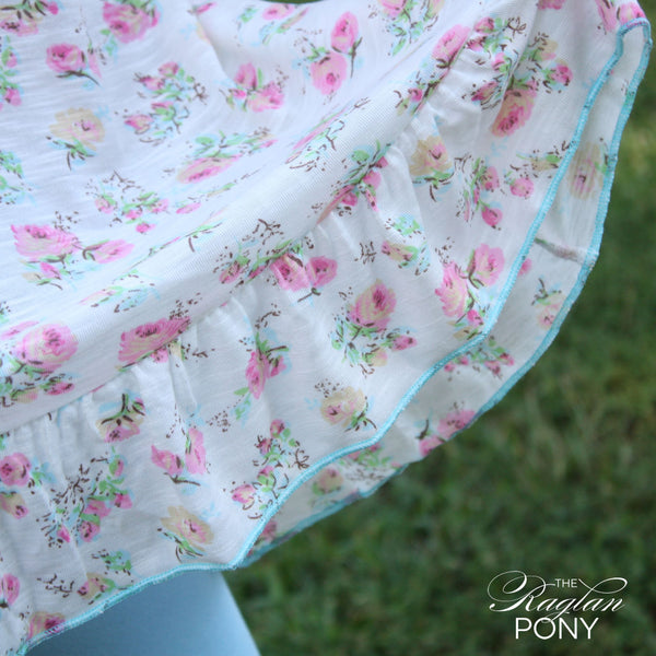 Nora Pearl Floral - The Raglan Pony