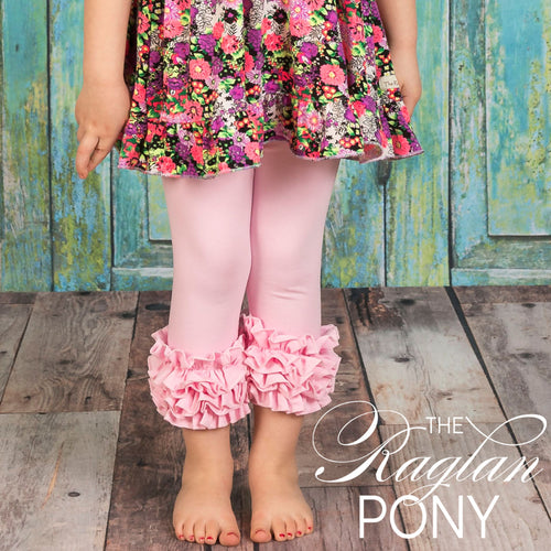 Capri Icing Pink - The Raglan Pony