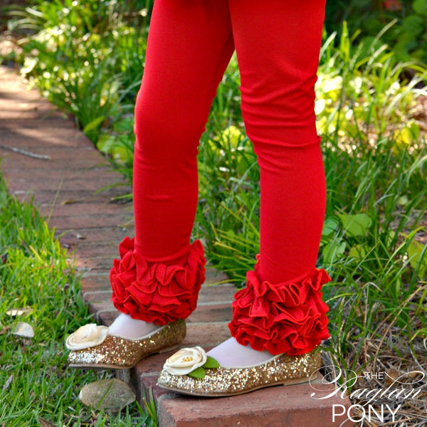 Icings Red - The Raglan Pony