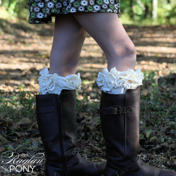 Socks Buttercream Ruffles - The Raglan Pony