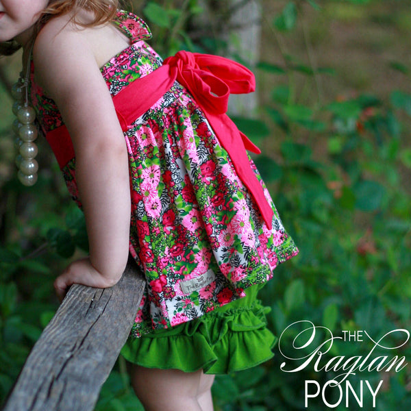 Sophi Floral Tunic - The Raglan Pony