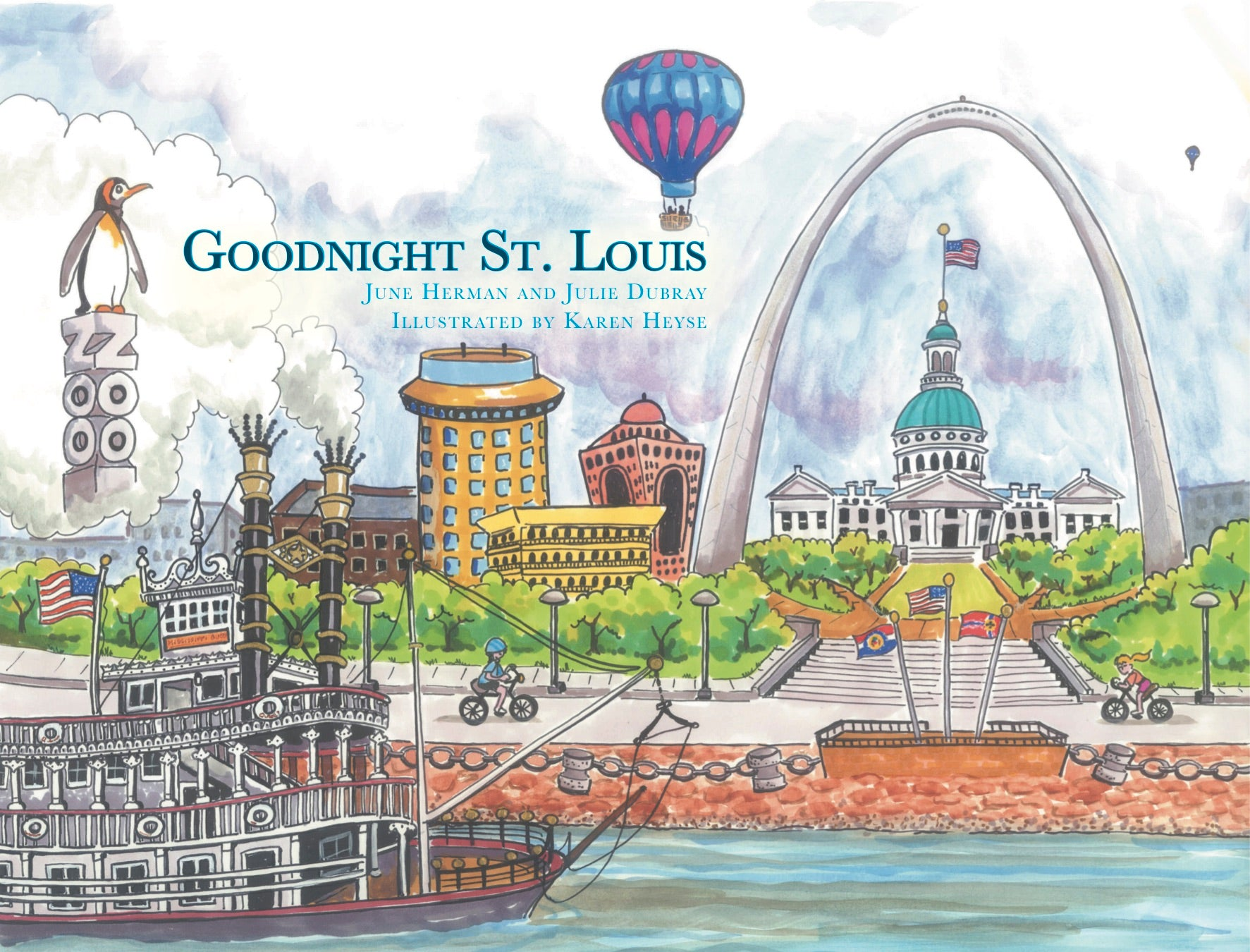 Goodnight St Louis NOW Available at Van's Hallmark Crestwood, MO