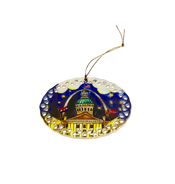 2016<br>Ceramic Ornament<br>Dated Limited Edition<br>Limited Quantity Remaining<br><br>Available Online and<br>at Retailers