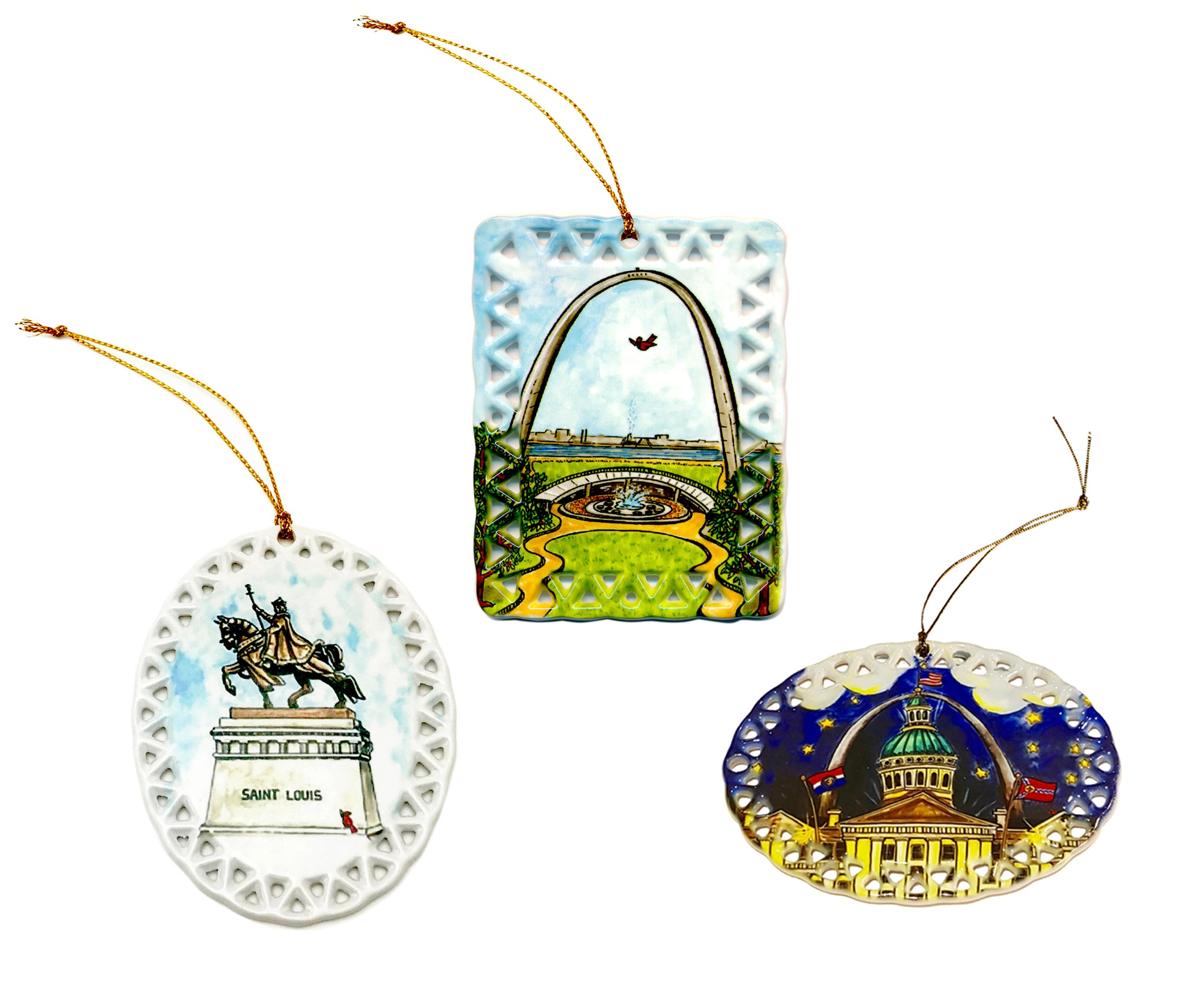 <br>Ceramic Ornaments<br>Limited Edition<br><br>Available Online and<br>at Retailers