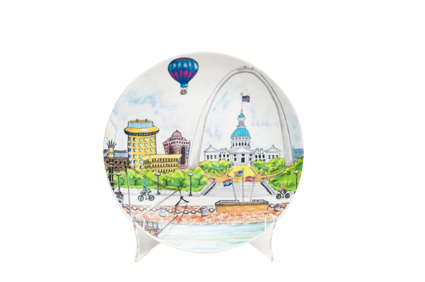 "Round Ceramic Plate<br><br><font color=""red"">Not available Online<br>Retail Only<br>(limited retail supply)</font color=""red"">"