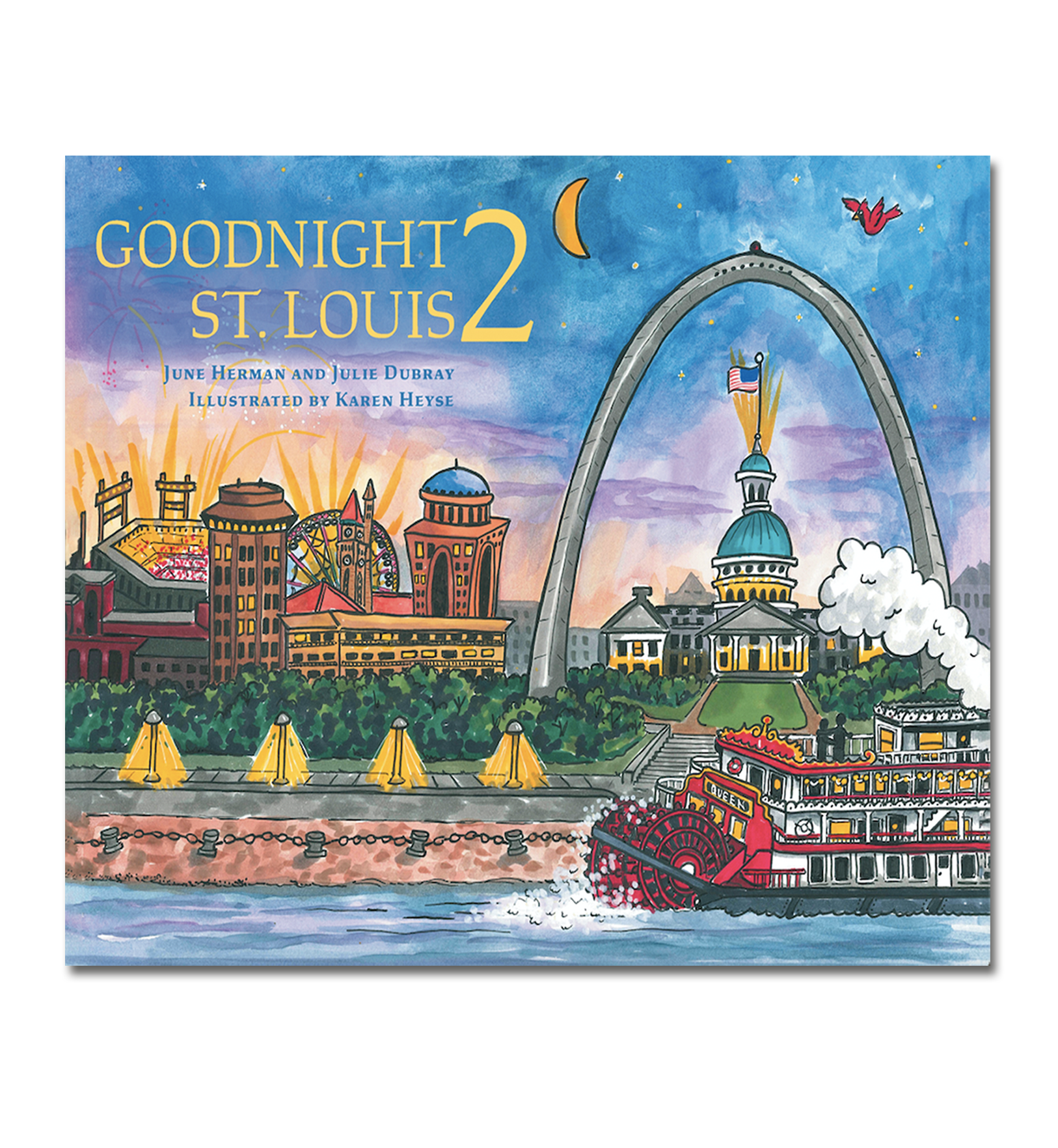 Goodnight 2 St. Louis Book<br>Hard Cover Only<br><br>Available Online and<br>at Retailers