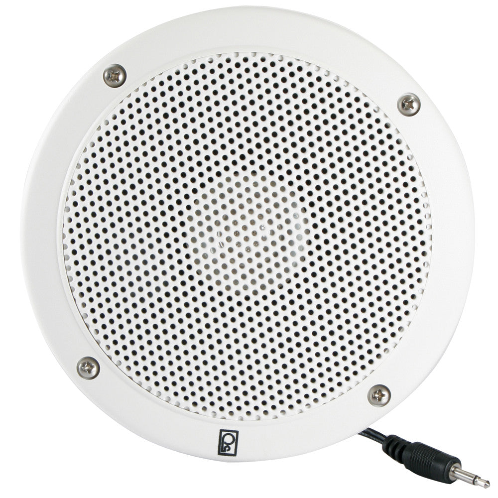 "PolyPlanar 5"" VHF Extension Speaker (Single) - Flush Mount - White"