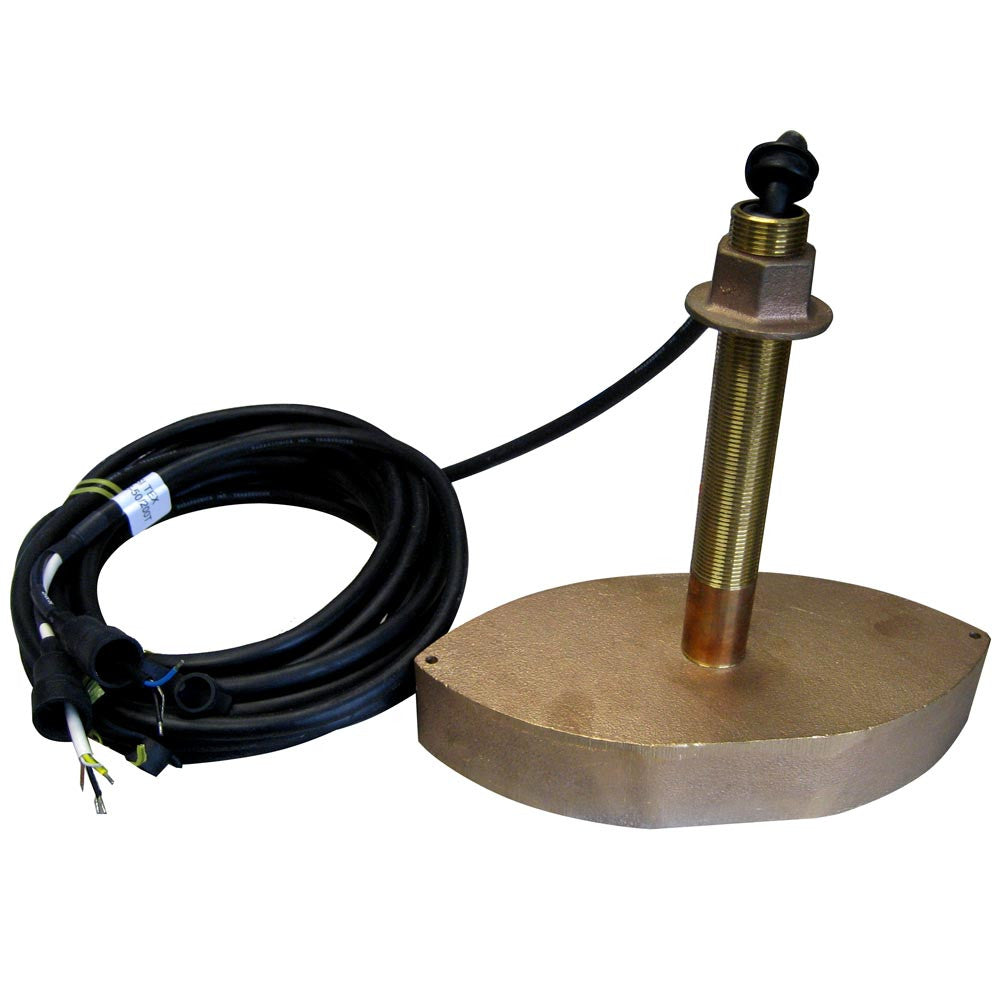 SI-TEX 706/50/200T Bronze Thru-Hull Transducer