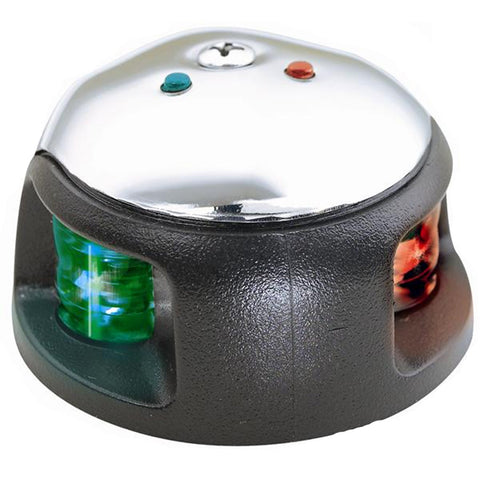 Attwood 3500 Series 2-Mile LED Bi-Color Red/Green Combo - 12V - Stainless Steel Housing