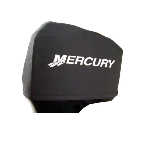 Attwood Custom Mercury Engine Cover - 2-St/2.5L V-6 EFI & 2.5L V-6 Carb/150, 200HP - 2-St/75, 90HP - 4-St/75, 90, 115HP