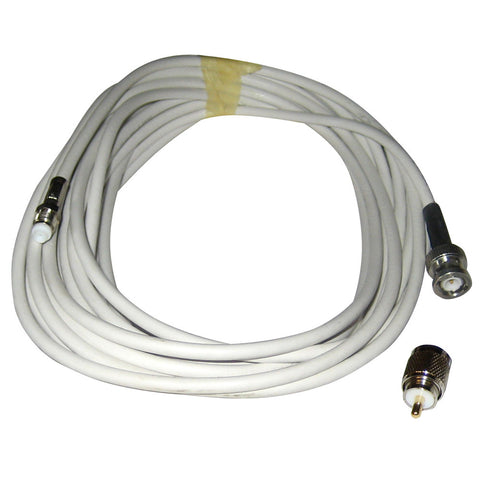 Comrod VHF RG58 Cable w/BNC & PL259 Connectors - 20M