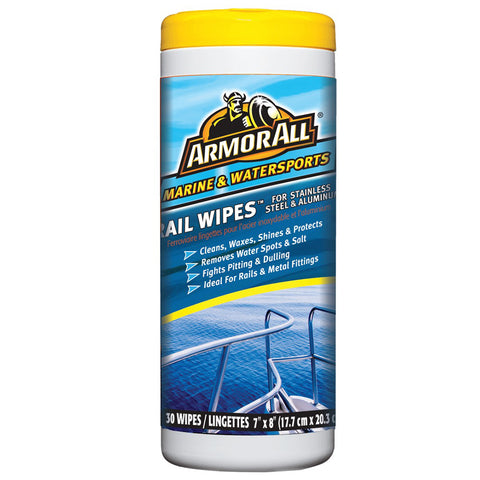 Armor All Rail Wipes - Stainless Steel & Aluminum
