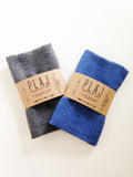 - Texada Stone Washed Hand/Tea Towels -  - Plaj Towel Co. - Premium Handloomed Turkish Towels - Plajtowels.com - 2
