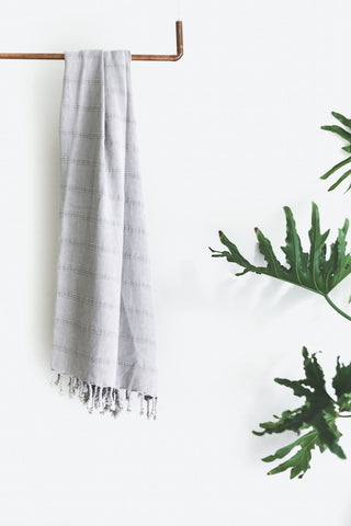 - Texada Towel - Stone Washed -  - Plaj Towel Co. - Premium Handloomed Turkish Towels - Plajtowels.com - 1