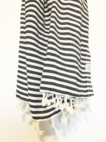 - Denman XL Blanket/Throw -  - Plaj Towel Co. - Premium Handloomed Turkish Towels - Plajtowels.com - 1