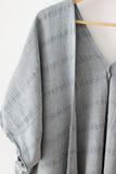 - Texada Kimono Cape - Stone Washed -  - Plaj Towel Co. - Premium Handloomed Turkish Towels - Plajtowels.com - 3