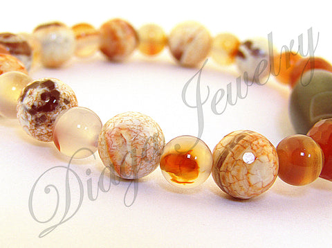 Coffee Colour Agate Bracelet